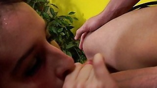 Image: Sucking Cock and Hard Finger Fuck
