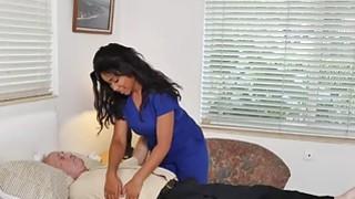 Hardcore fucking with Ebony nurse Jenna Foxx image