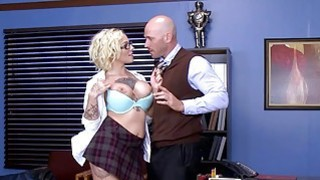 Brazzers Dirty school girl Harlow Harrison image