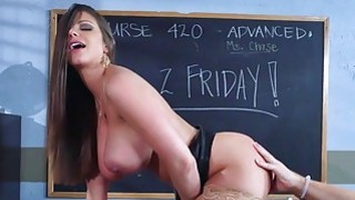 Brazzers  Sexy milf Brooklyn Chase teaches her student image