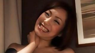 Horny Asian MILF loves to suck hard dicks image