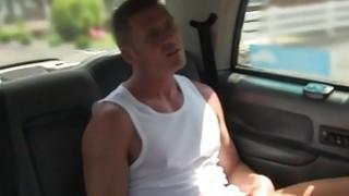 Image: Tattooed female cab driver_fucks next customer