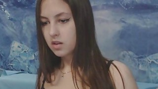 Big Nipples Brunette Teen Striper image
