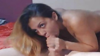 Curvy Babe Eats Hot Jizz After Getting Fuck image