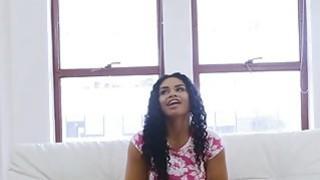 Image: Oiled bigtit ebony fucks at audition