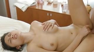 Guy gladly perform pleasuring of a nasty slut image