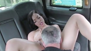 Sexy amateur passenger railed by fraud driver image