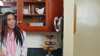 Image: Slutty Daughter Sally Squirt Helps Hot Stepmom Rachel Starr Cum