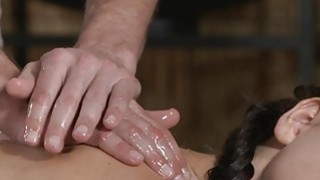 Thick ass hottie gets massage and sex image