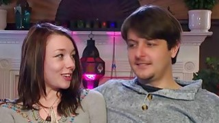Young couple goes to a swinger party for the first_time image