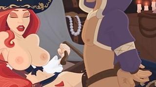 Miss Fortune's Booty Trap XXX Parody image
