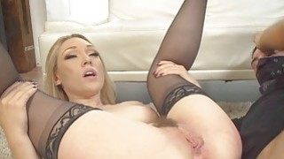 Blonde Lilys pussy and her toy image