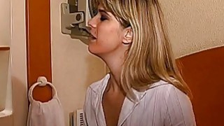 Hot blonde lesbians are on a pussy satisfying mission image