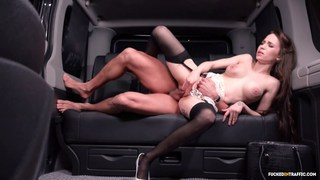 Image: Eating steak and getting a BJ on the backseat of my car