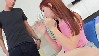 Dirty_redhead_teen_gives_an_unforgettable_blowjob_to_her_step_brother image