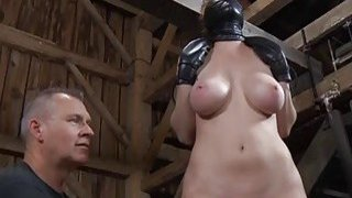 Geeky playgirl is_bounded for violent punishment image