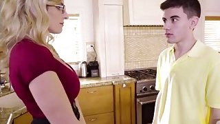 Hot mommy Cory Chase fucking friend Jordi image