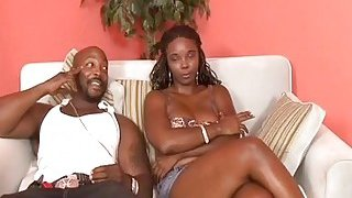 Busty Stacy Adams Takes Cock In Mouth And Cunt image