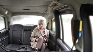 my mom fucked taxi driver - Fake taxi driver bangs blonde reporter image