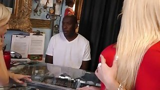 Piper and step mom Alura roughly_banged by black cock image