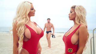 Rare bigtits blonds - Bigtit bridgette b and nicolette shea play with each other image