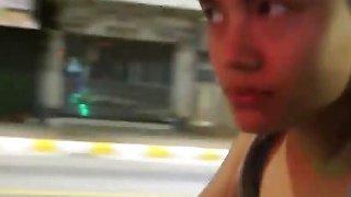 Image: Asian Slut Seduced To Suck And Ride Long Cock