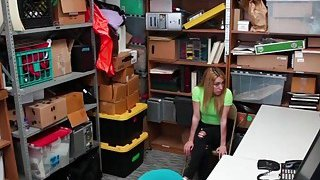 Alexa Rayes tight pussy fuck from behind by the LP Officer image