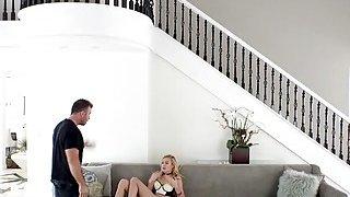 Image: Husband recorded hot wife masturbating on spy cam