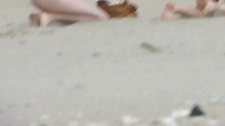 Image: Rousing nude beach voyeur spy cam video beach sex scenes