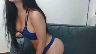 Mean Babe Teasing Striptease That ASS image