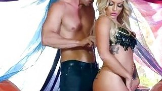 Kissa Sins_Belly Dancing image
