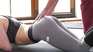 Fit blonde banging_her private coach image