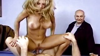 Housewife Gets Fucked In Front Of Husband And Loves It image