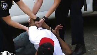 Interracial_outdoor_threesome_fucking_with_hot_police_officers_and_bbc - Unique outdoor mud fuck image