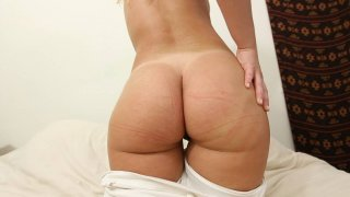 Image: Fucking a hot blonde with nice booty for cash