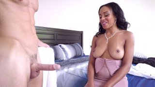 Johnny Sins shows his big_boner to Anya_Ivy image