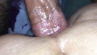 Turkish chick takes a big dick in her ass POV image
