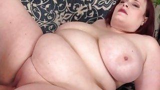 Image: Big Tit Fat Girl Asstyn Martin Masturbates Then Gets Fucked