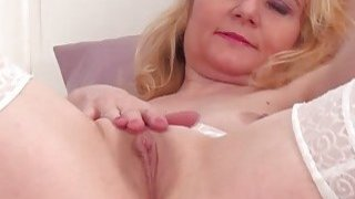 Hottie Mature Lily Roma Finger Pussy image