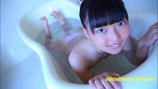 Kasumi Kobayashi Jav Idol Debut Wearing Lingerie image