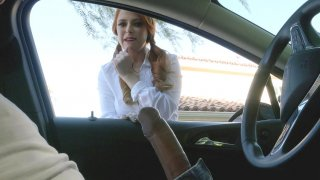 Waitress_Penny_Pax_sucking_Keiran_in_the_car image