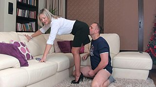 Image: Femdom masturbation session