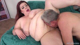 Image: Fat Girl Miss Ladycakes Takes a Cock in Her Pussy and Cum in Her Mouth