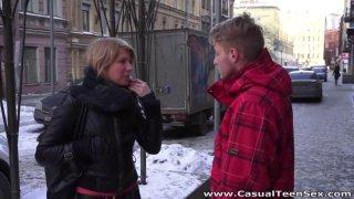 Casual Teen Sex Katya Teeny surprises with_great fuck image