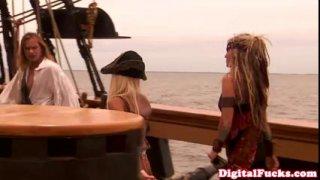 "Image: Beautiful blonde pornstar Carmen Luvana in famous porn movie ""Pirates"""