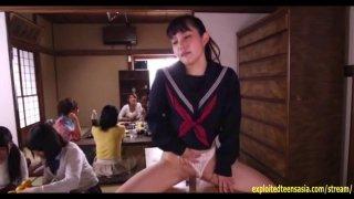 Jav Teen Ootsuki Hibiki Rides Glory Hole image