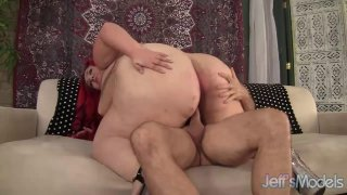 Huge Assed BBW Jayden Heart Is Licked and Fucked by a Horny Older Guy image