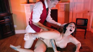 Busty Ivy Lebelle gets pussy plowed by Danny D image