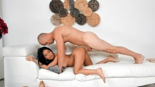 Monica Asis gets fucked by Sean Lawless doggystyle image