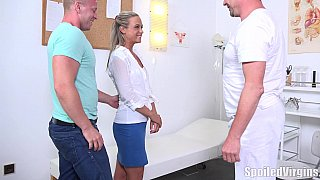 Blonde fucked as per doctor's orders image